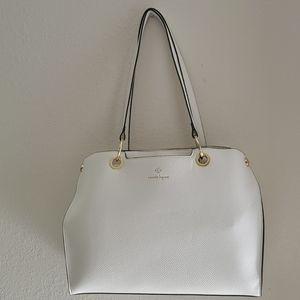 Nanette Lepore Cecylia Shoulder Bag White